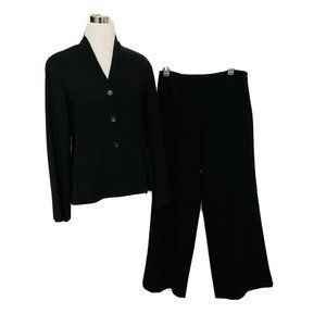 New Eileen Fisher Pants Suit Womens Small Black
